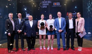 Final: Hania Hammamy BlackBall Champion!!!