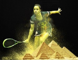 That Day CIB Raneem El Welily became world number 1….