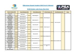 Elborolossy Academy Circuit #3 – Lake House Finals