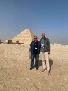 VIP Visit: WSF CEO William Louis-Marie in Saqqara
