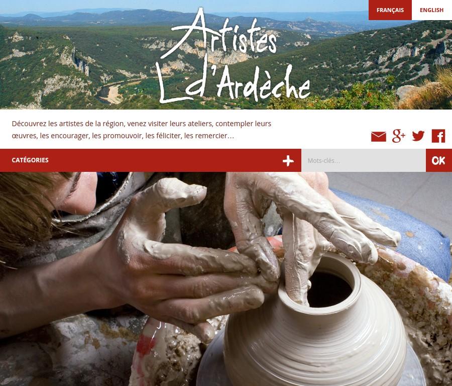 Artistes d'Ardèche