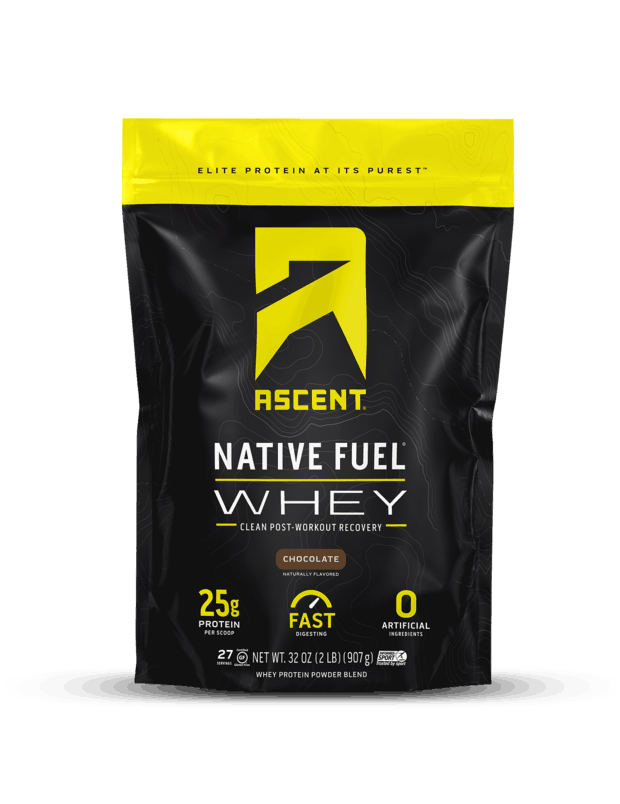 Ascent Whey Protein: Chocolate
