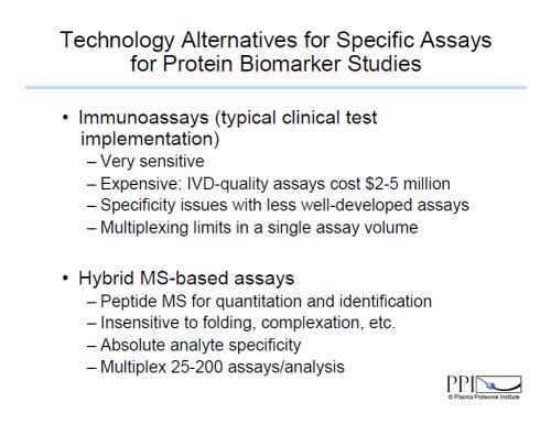 Immunoassay vs Hybrid MS-based assays