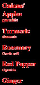 arachidonic acid, leukotrienes, PG and thromboxanes