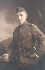 Gerald B. Webb, World War I,
