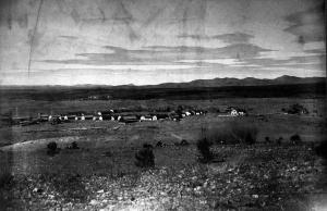 U.S. Army, General Hospital, Fort Bayard, New Mexico, General View,