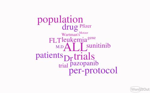 Sunitinib brings Adult Acute Lymphoblastic Leukemia (ALL) to Remission – RNA Sequencing – FLT3 Receptor Blockade