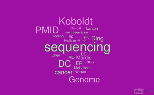 Genetic Basis of Complex Human Diseases: Dan Koboldt's Advice to Next-Generation Sequencing Neophytes