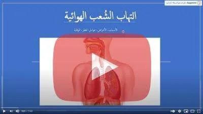 فيديو - التهاب الشعب الهوائية