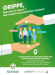vaccination grippe à la pharmacie Charlet