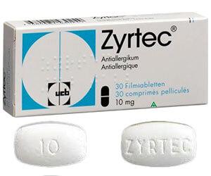 Zyrtec – cetirizine posologie effets secondaires achat en ...