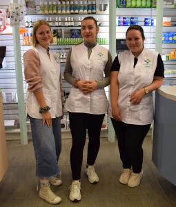 Pharmacie Voirol équipe