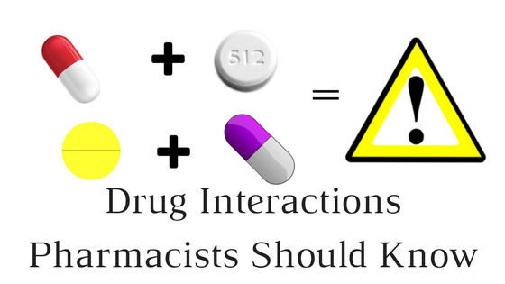 Drug Interactions Pharmacists Should Know