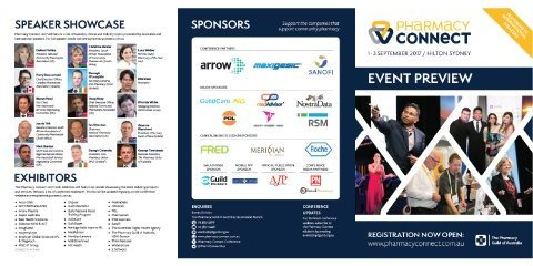 Event preview brochure available now