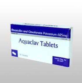 Aquaclav 625mg – Marvicani Pharmacy