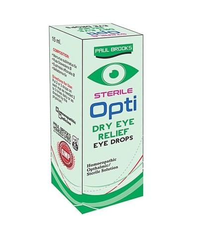Paul Brooks Opti Dry Eye Relief Drops - 15 ml