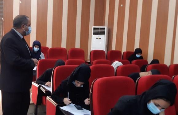 كلية الصيدلة تباشر بإداء إمتحانات الدور الثاني للعام الدراسي 2020_2021