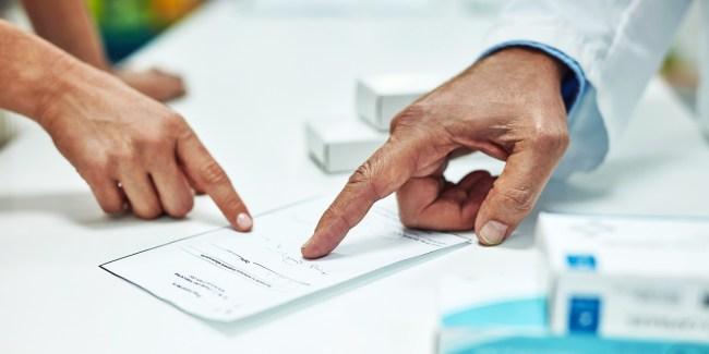Close-Up Complaints Prescription