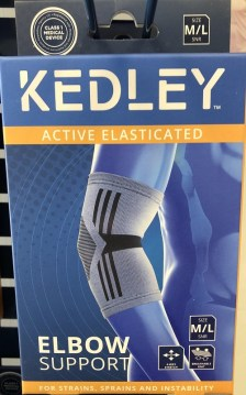 Activated Elasticated Elbow Support Size M/L (Kedley)