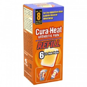 Cura-Heat Arthritis Pain Patch 6`s