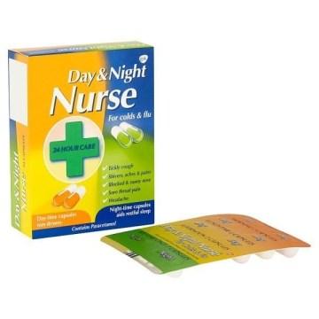 Day & Night Nurse Caps 24's