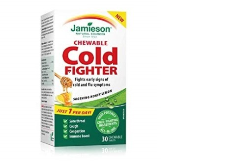 Jamieson Cold Fighter Chewable Tablets 30`s