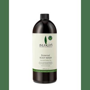 Sukin Botanical Body Wash Cap 1 Litre