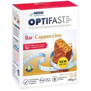Optifast VLCD Bar Cappuccino Flavour 6 x 65g 3