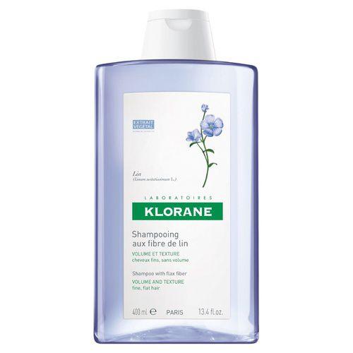Klorane Shampoo with Flax Fiber 400mL