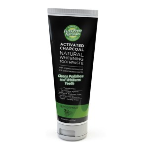 Essenzza Activated Charcoal Natural Whitening Toothpaste Peppermint 113g