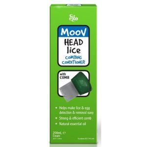 Ego Moov Head Lice Combing Conditioner + Comb 200mL