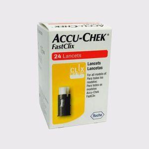Accu-Chek FastClix Lancets 24