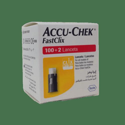 Accu-Chek  FastClix Lancets 100 + 2 3