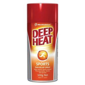 Deep Heat Sports Pain Relief Spray 100g Net | Mentholatum