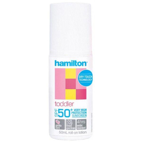 Hamilton Toddler Sunscreen SPF50+ Roll-On Lotion 50ml