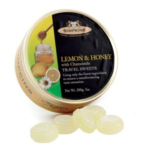 Simpkins Travel Tin Lemon & Honey With Chamomile 200G