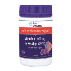 Henry Blooms Vitamin C 1000 & Rosehip 500 180 Tablets