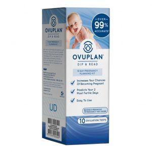 OvuPlan Dip & Read 10 Day Pregnancy Planning Kit 10 Ovulation Tests