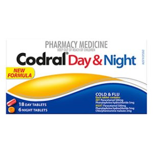 Codral PE Day & Night Tablets – 24 Pack