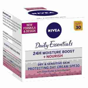 NIVEA Daily Essentials Rich Moisturising Day Cream SPF30 50ml