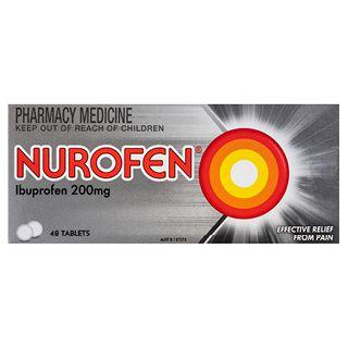 Nurofen Ibuprofen Pain Relief Tablets 200mg – 48 Tab 3