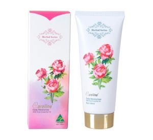 Careline Herbal Series Daily Moisturiser with Rose Essential Oil 100ml