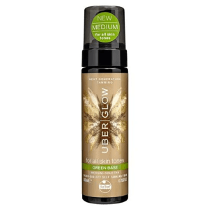 Le Tan Uber Glow Foamed Oil Self Tanning Foam Green Base 200ml