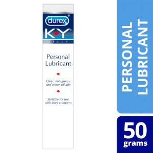 Durex K-Y Personal Lubricant Use with Condoms 50g