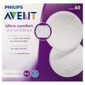 Philips Avent Ultra Comfort Disposable Breast Pads 60 Pack