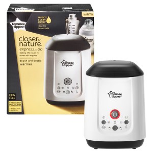 Tommee Tippee Express and Go Bottle & Pouch Warmer
