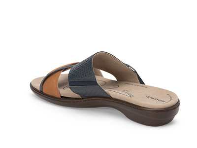 Homyped Abria Navy Tan C+ Fitting 4