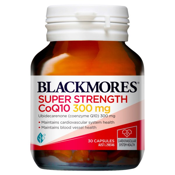 Blackmores Super Strength CoQ10 300mg 30 Capsules (OOS 14/07/2021 – POWELL) 3