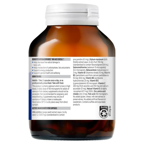Blackmores Bio Ace Excell 150 Capsules 6