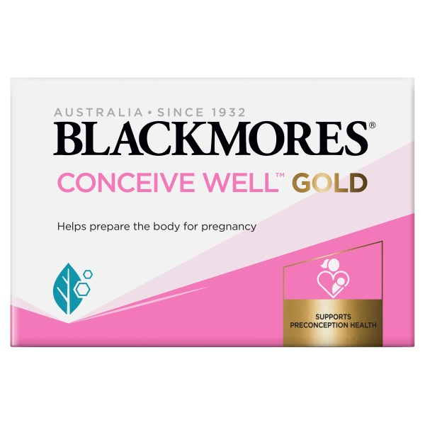 Blackmores Conceive Well Gold 56 Pack 4